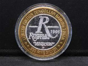 Casino Token - 1996 Limited Edition $10 Collector's