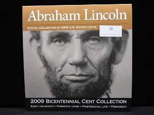 2009-D Abraham Lincoln Bicentennial 4 Cent Collection