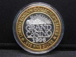 Casino Token - 1996 Limited Edition Collector's Series