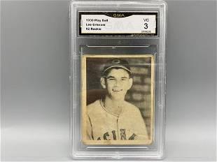1939 Play Ball Lee Grissom RC #2 GMA 3