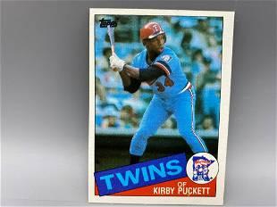 1985 Topps Kirby Puckett RC #536