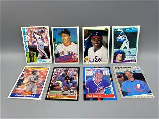 1983-1990 Baseball Rookies Lot of of 8 - Darryl
