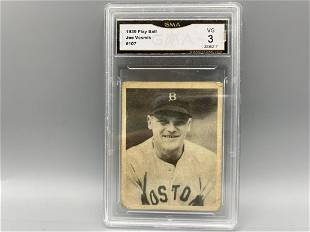 1939 Play Ball Joe Vosmik #107 GMA 3