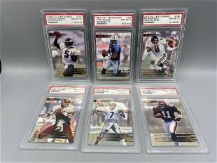 2000 Collectors Edge Graded Football PSA 10 Lot of 6