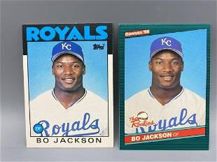 1986 Topps Traded & Donruss Rookies Bo Jackson Rookies