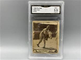 1940 Play Ball Waite Hoyt #118 GMA 3.5