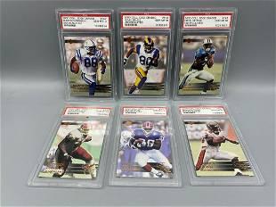 2000 Collectors Edge Graded Football PSA 10 Lot of 6 -