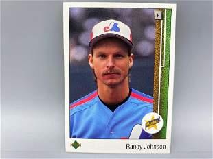 1989 Upper Deck Randy Johnson RC #25