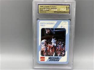 1989 Collegiate Collection Michael Jordan #14 USA 9 -