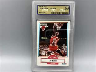 1990-91 Fleer Basketball Michael Jordan #26 USA 10