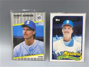 1989 Fleer Update & Topps Traded Randy Johnson Rookies