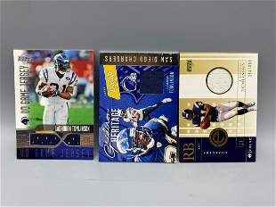 LaDainian Tomlinson Game Worn Jersey Lot of 3 including