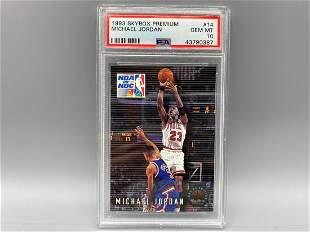 1993-94 Skybox Premium Michael Jordan #14 PSA 10