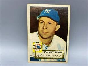 1952 Topps Johnny Hopp #214 - New York Yankees
