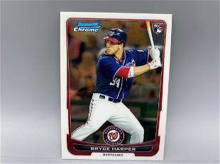 2012 Bowman Chrome Bryce Harper RC #214