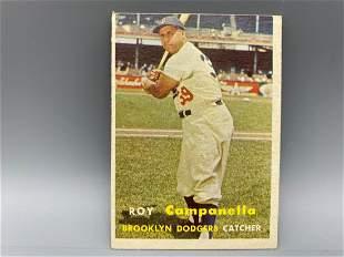 1957 Topps Roy Campanella #210