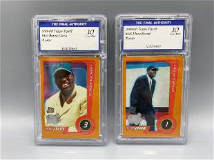 1999-00 Topps Tipoff Basketball Lot of 2 Rookies Graded