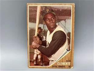 1962 Topps Roberto Clemente #10