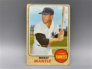 1968 Topps Mickey Mantle # 280