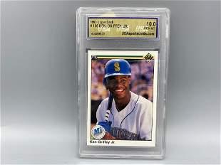 1990 Upper Deck Ken Griffey Jr #156 USA 10