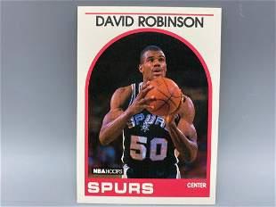 1989-90 NBA Hoops David Robinson RC #310