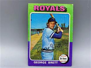 1975 Topps George Brett RC #228