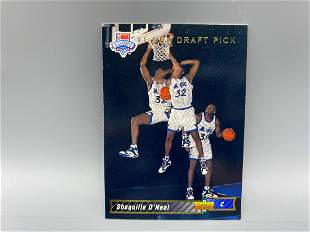 1992-93 Upper Deck Shaquille O' Neal RC #1 - Draft Pick