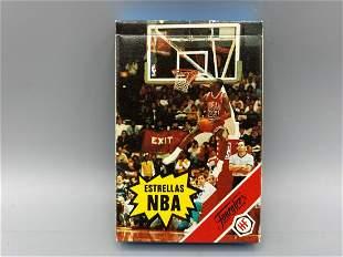 1988 Fournier Estrellas NBA Basketball Set - 2 Michael