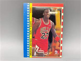 1987-88 Fleer Michael Jordan Sticker #2
