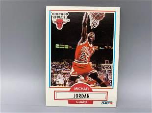 1990-91 Fleer Michael Jordan #27