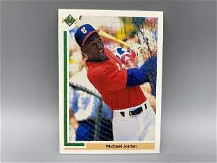 1991 Upper Deck Michael Jordan #SP1 Insert - Baseball