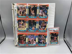 1986-87 Fleer Basketball Complete Set - Michael Jordan