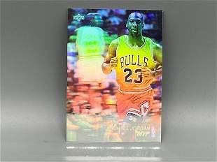 1991 Upper Deck Michael Jordan Hologram #AW4