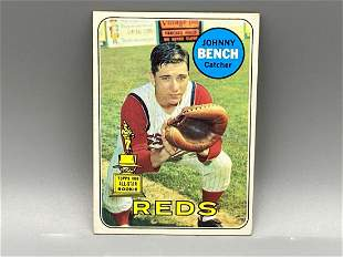 1969 Topps Johnny Bench #95 2nd Year Card