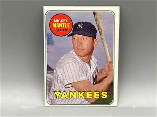 1969 Topps Mickey Mantle #500