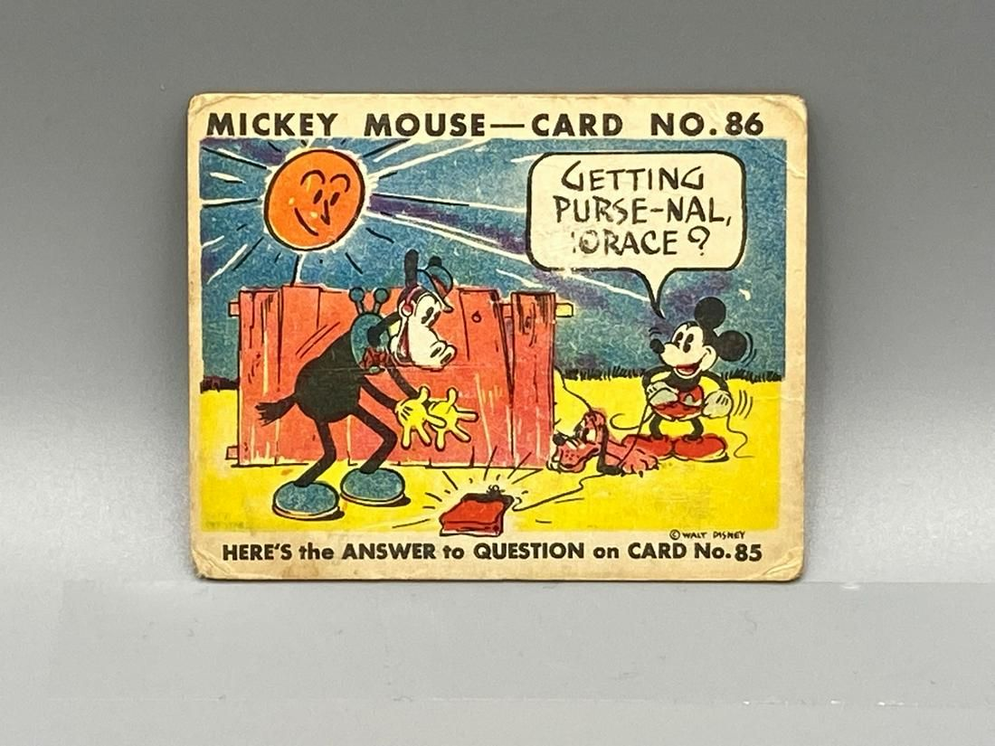 1935 Mickey Mouse R90 #86 - Scarce