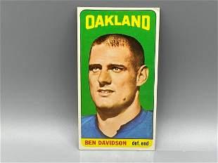 1965 Topps Ben Davidson #137 Rookie SP