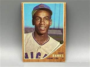 1962 Topps Ernie Banks #25