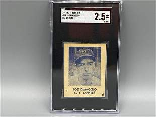 1948 Blue Tint R346 Joe Dimaggio SGC 2.5 - RARE - Only