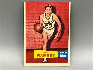 1957 Topps Frank Ramsey #15 Rookie HOF