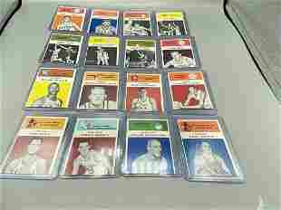 (16) 1961 Fleer Basketball Cards - All Present EX or