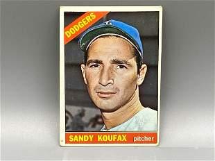 1966 Topps Sandy Koufax #100