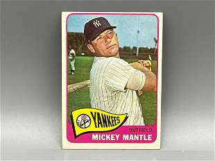 1965 Topps Mickey Mantle #350