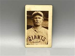 1923 Willard Chocolate Earl Smith Rare