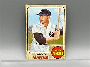 1968 Topps Mickey Mantle #280