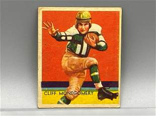 1934-36 National Chicle Cliff Montgomery #21 Rare