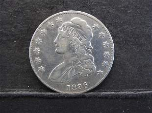 1836 Capped Bust Half Dollar - Great Example!