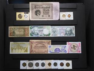 Misc. Foreign Currency & Coins.