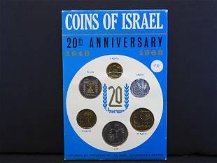 1968 Israel Specimen Set.