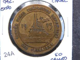 1915 San Francisco Panama Canal Completion So-Called